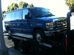 Towing Santa Monica